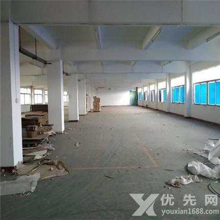 東莞塘廈林村市場附近新出樓上1100㎡原房東廠房空地超大近高速口