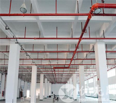 東莞寮步全新獨院標準5600平方廠房出租帶噴淋消防