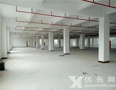 惠州惠東平山全新樓上2300平廠房出租12元