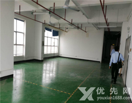 深圳沙井新橋新出樓上精裝修1000平廠房出租