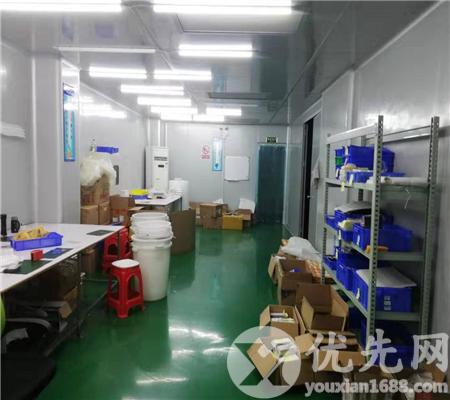 黃江鎮獨院樓上帶裝修1000平方千級無塵車間廠房出租(免轉讓費)