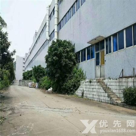 東莞虎門鎮獨院標準三層廠房36000平方,花園式院子,一樓6米高