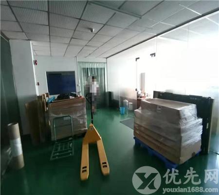 松崗大田洋新出樓上帶豪華裝修700平無塵車間廠房出租